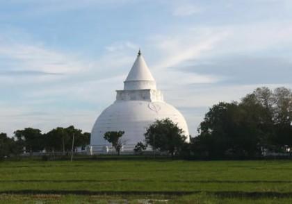 Tissa Maha Stupa at Tissamaharama